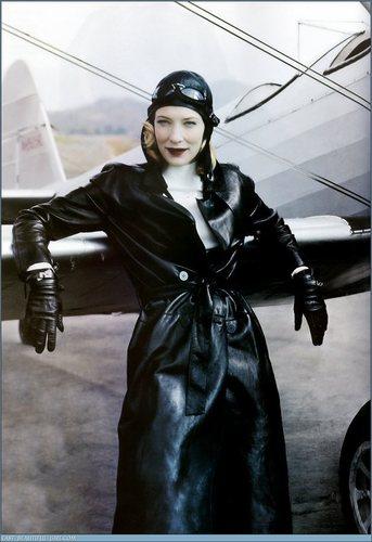 Vogue wallpaper titled December 2004: Cate Blanchett
