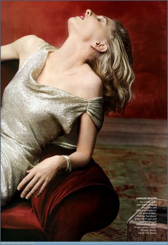 Vogue wallpaper called December 2004: Cate Blanchett