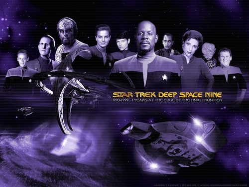 Du hành giữa các vì sao hình nền titled Deep không gian 9
