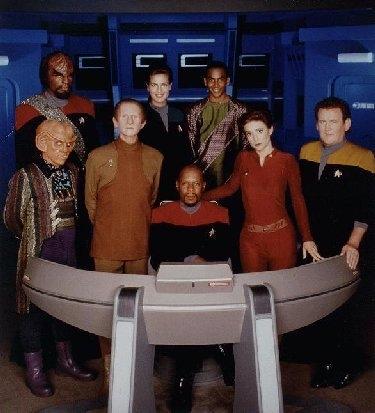 Deep luar angkasa nine cast