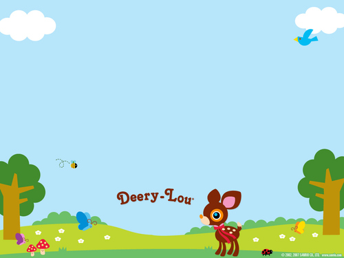 Sanrio wallpaper called Deery-Lou