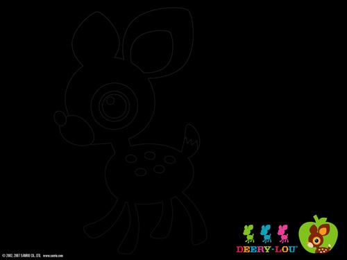 Sanrio wallpaper titled Deery-Lou