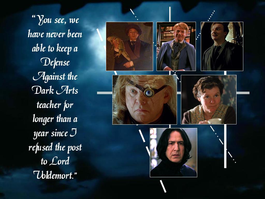 Defense Against The Dark Arts Harry Potter Fond D Ecran 39846