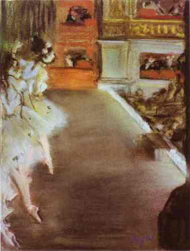 Degas - ballet Photo