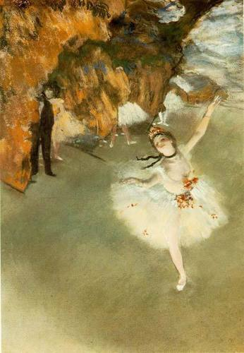 Ballet wallpaper titled Degas1