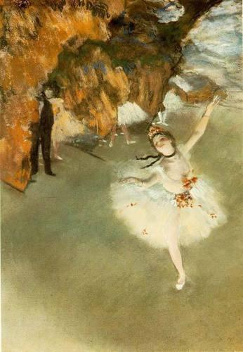Ballet wallpaper called Degas1
