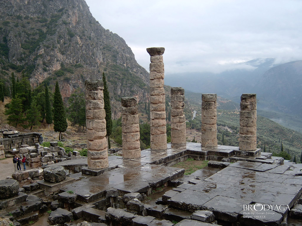 Delphi - Ancient History Wallpaper (585507) - Fanpop
