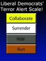 Democrats Terror Scale