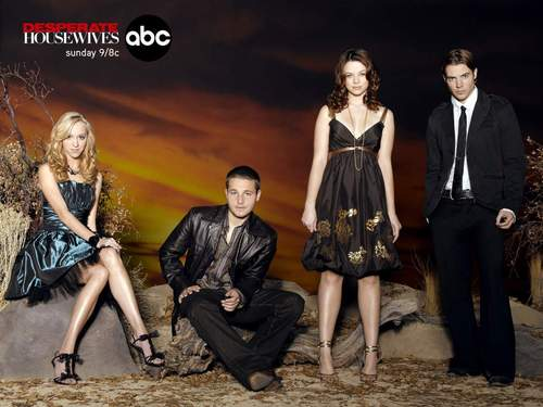 Desperate Housewives cast - desperate-housewives Wallpaper