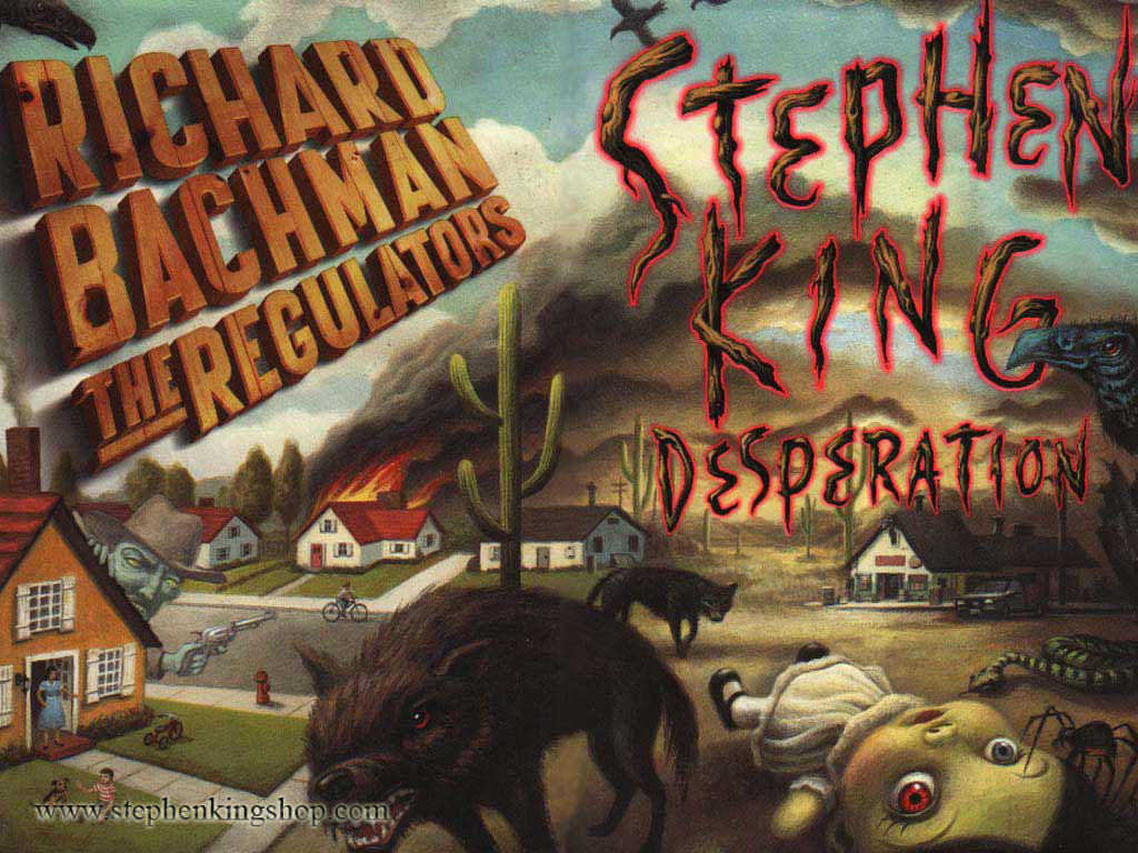 desperation by stephen king Masters of horror creator mick garris joins forces with literary horror icon stephen king for this, the pair's sixth onscreen collaboration in the wind-swept nevada town of desperation, a malevolent sheriff (ron perlman) delivers arrestees to a jail cell from which, by all accounts, no one has emerged alive.