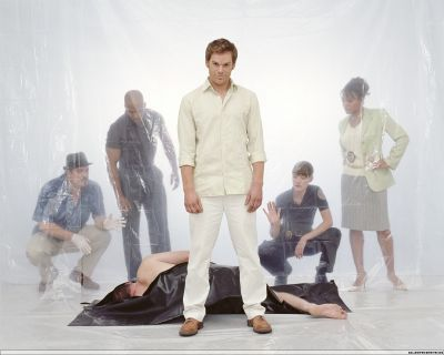 Michael C. Hall wallpaper entitled Dexter Season One Promo Pic
