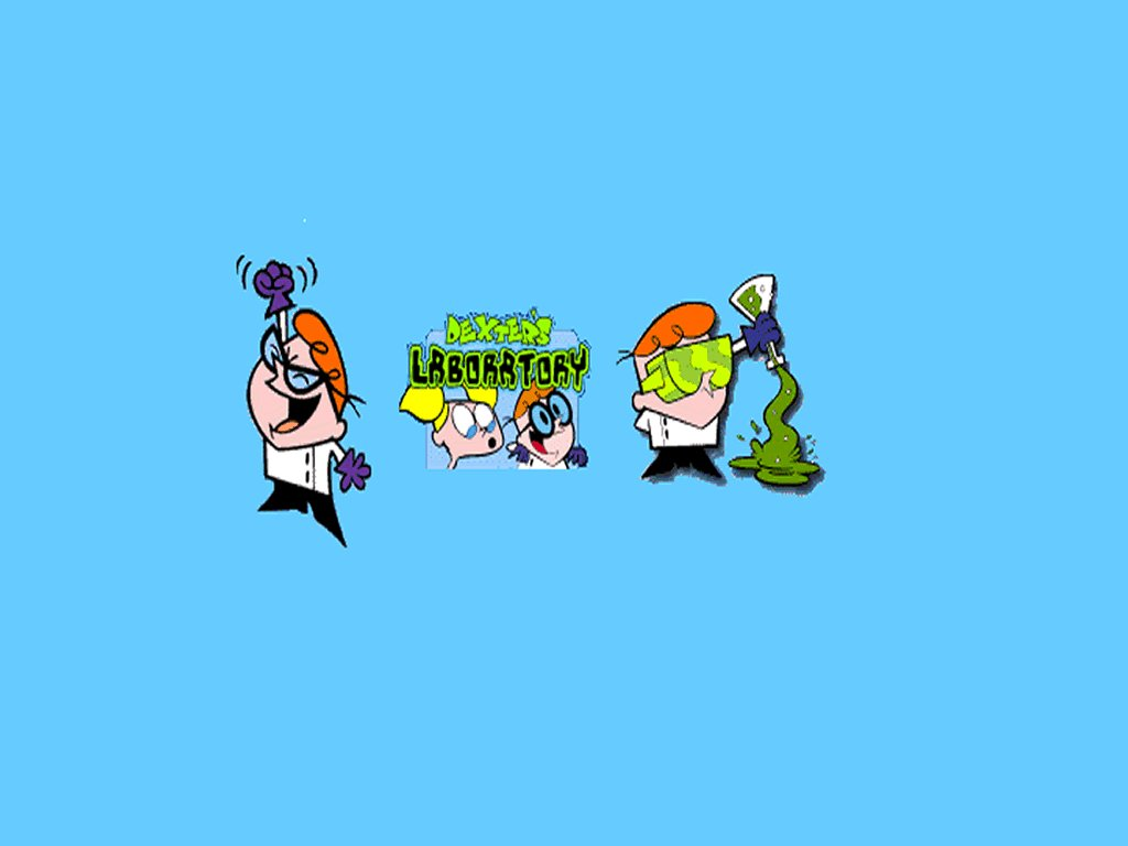 dexter 39 s laboratory cartoon network wallpaper 708384