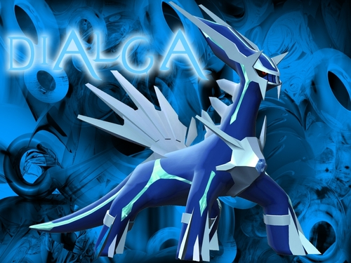 pokémon wallpaper titled Dialga