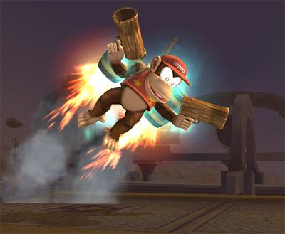 Diddy Kong's Final Smash