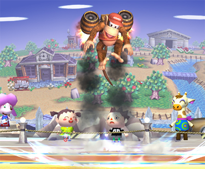 Diddy Kong's Special Moves