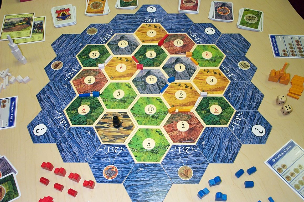 How to Play Settlers of Catan images