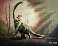 Dino Rider Julius