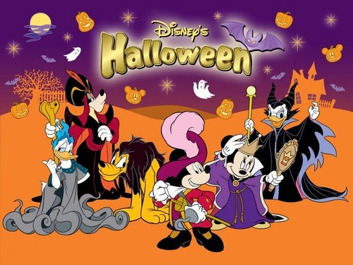 Halloween wallpaper entitled Disney Halloween