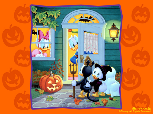 Disney Halloween - halloween Wallpaper