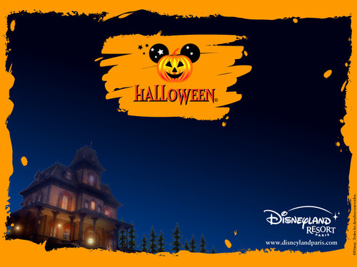 Halloween achtergrond called Disney Halloween