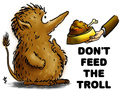 Do not feed the trolls - atsof wallpaper