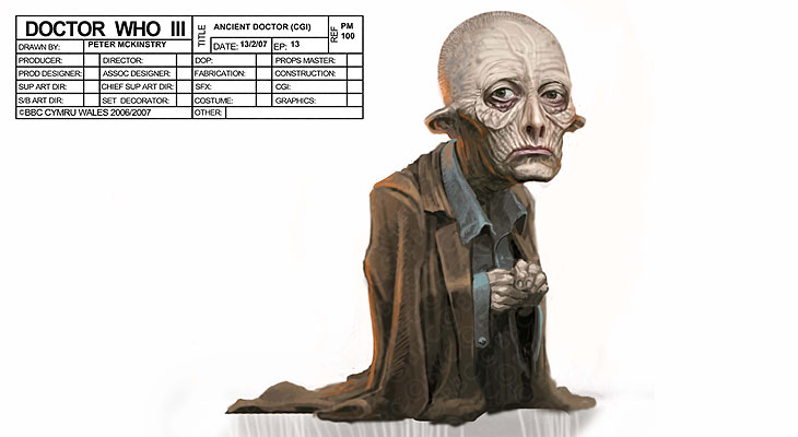 Doctor who concept art