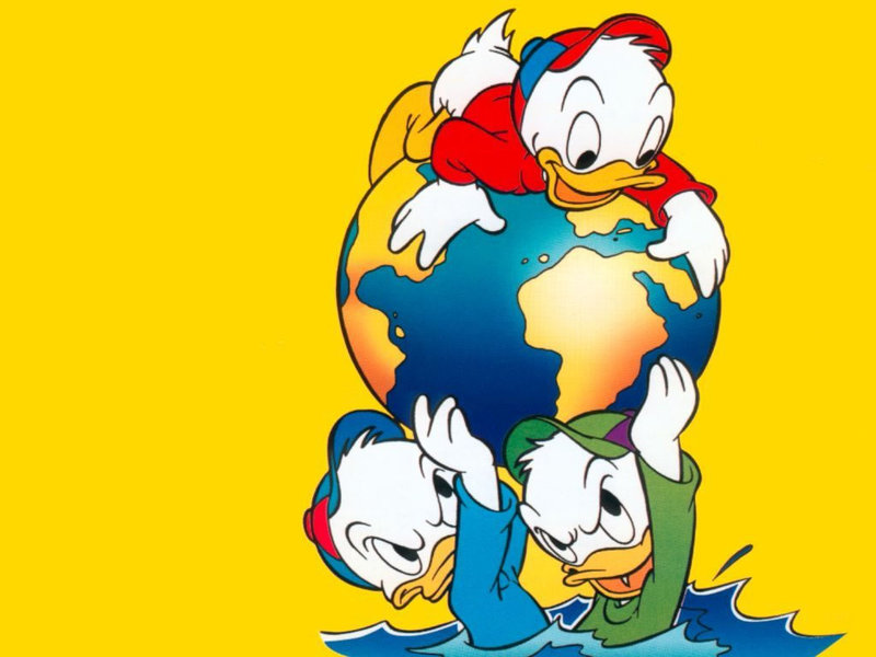 wallpaper donald duck. Donald Duck - Disney Wallpaper
