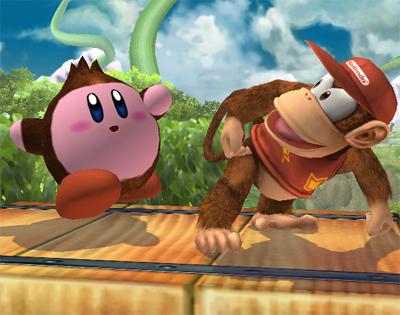 Donkey Kong Kirby