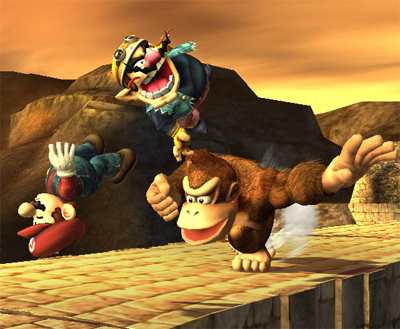 super smash bros brawl images donkey kong wallpaper and background