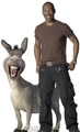 Donkey and Eddie Murphy