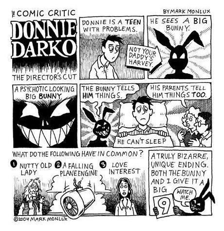 Donnie Darko, Comic Critic