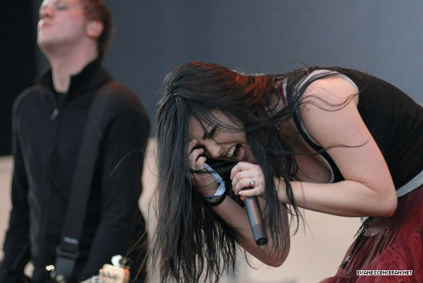 Evanescence images Download Festival wallpaper and