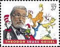 Dr. Seuss Tribute Stamp - dr-seuss photo