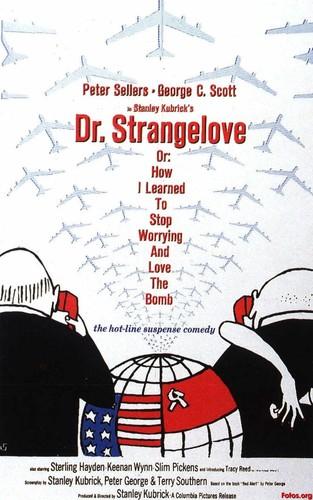 Filem Klasik kertas dinding titled Dr. Strangelove