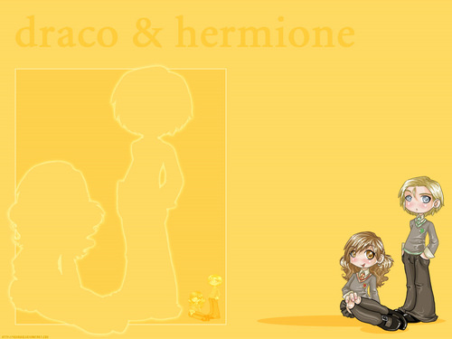 Draco Hermione WallPaper