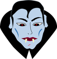 Dracula Mask - vampires fan art