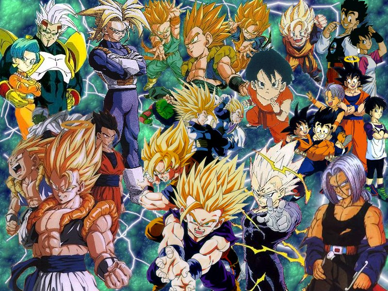 dragonball z wallpapers. Dragonball Z - Dragon Ball Z