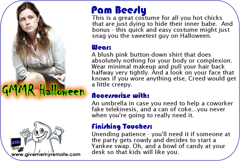 Dress Like Pam for Halloween