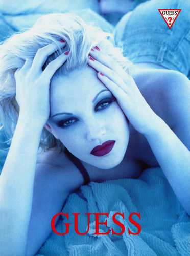 Guess wallpaper called Drew Barrymore