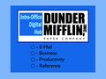 Dunder Mifflin Logo - the-office wallpaper
