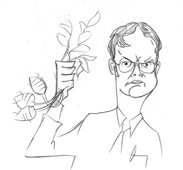 Dwight , the beets-guy