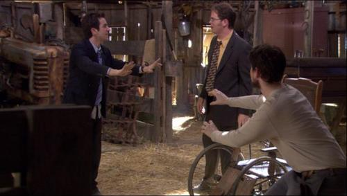 Dwight and Mose