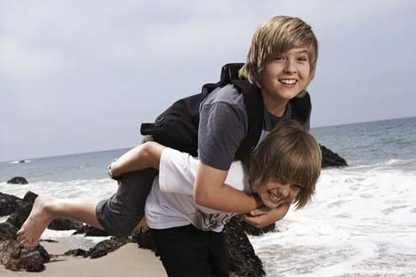 The Sprouse Brothers wallpaper called Dylan & Cole