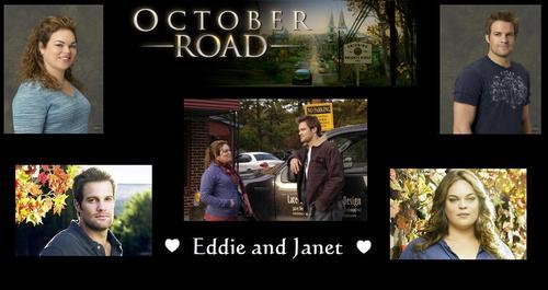 Eddie and Janet Обои