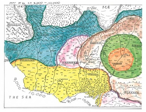 Eddings Marked Maps