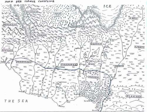 Eddings Marked Maps
