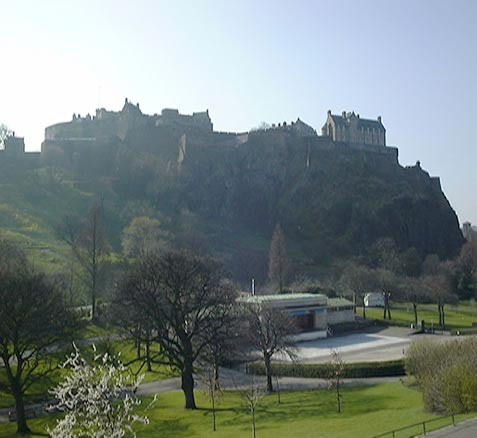 Edinburgh castello