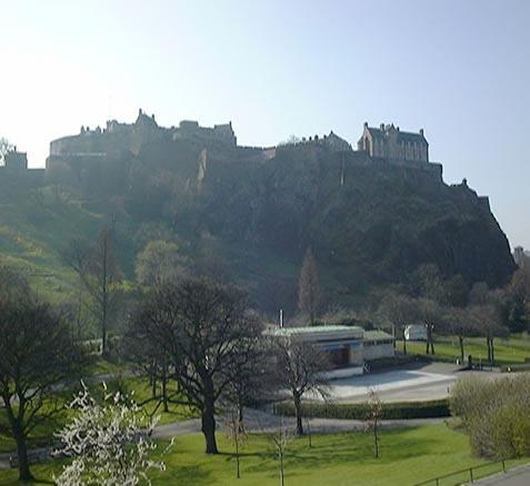 Scotland wallpaper called Edinburgh kastil, castle