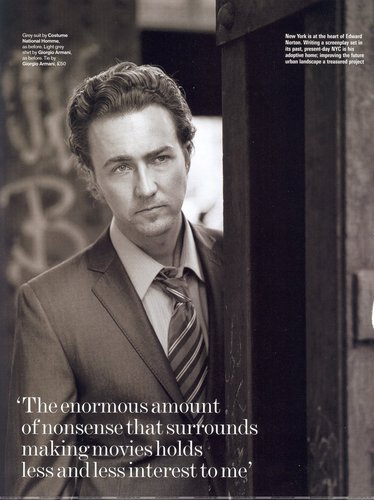 Edward: GQ UK October 2003 - edward-norton Photo