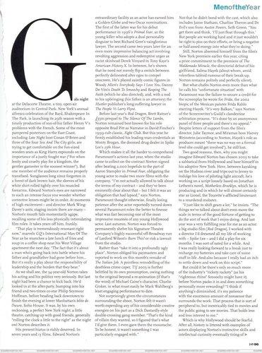 Edward: GQ UK October 2003
